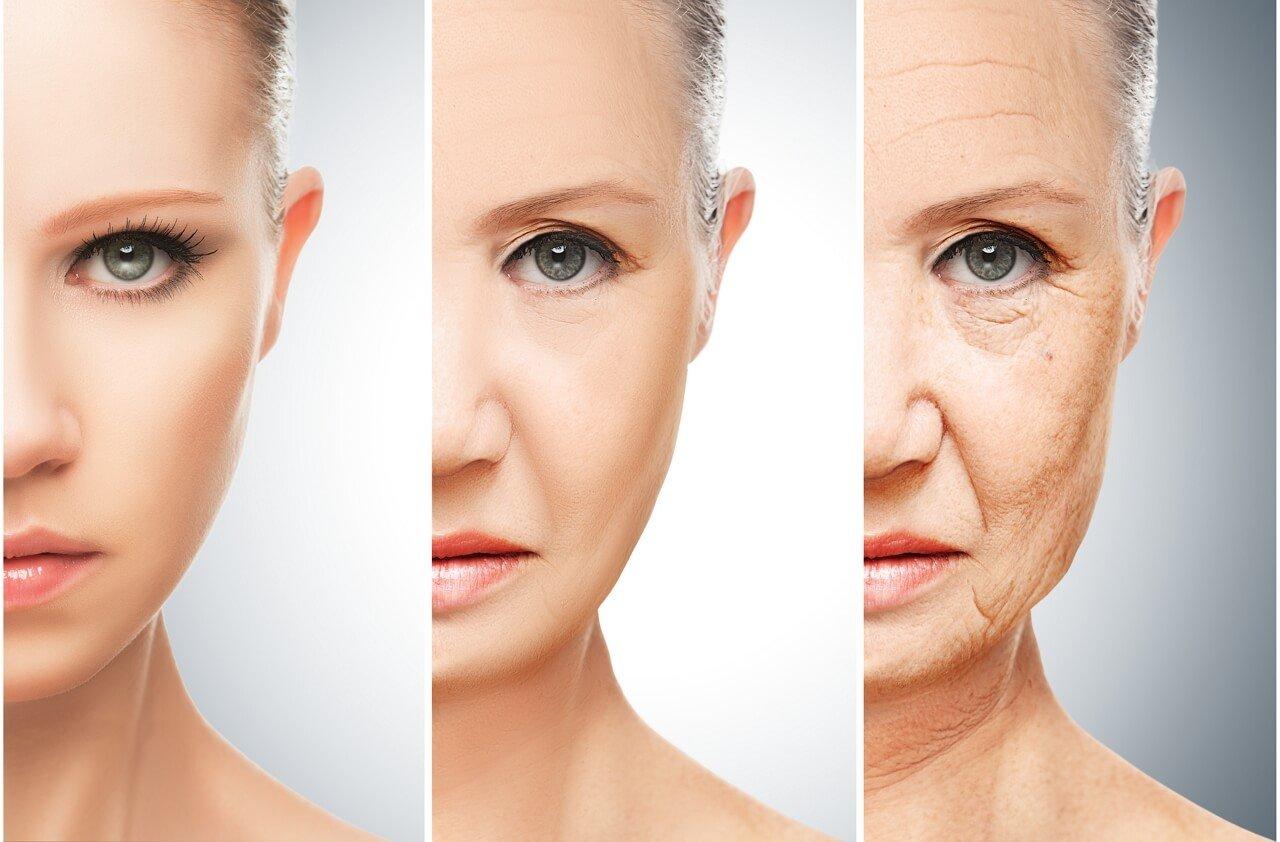 Starzenie się skóry twarzy - etapy